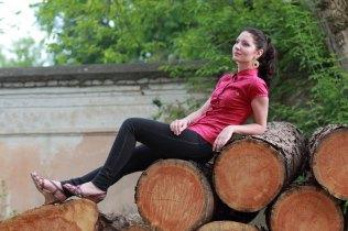Asmeninė fotosesija Vilniuje, Rūta. Fotografas Tautvydas Banelis