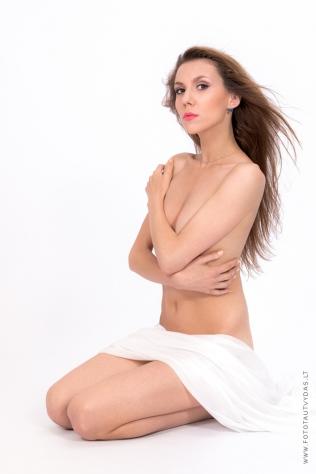 Erotinė fotosesija Vilniuje, Darja