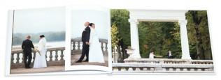 Vestuvių fotoknygos pavyzdys